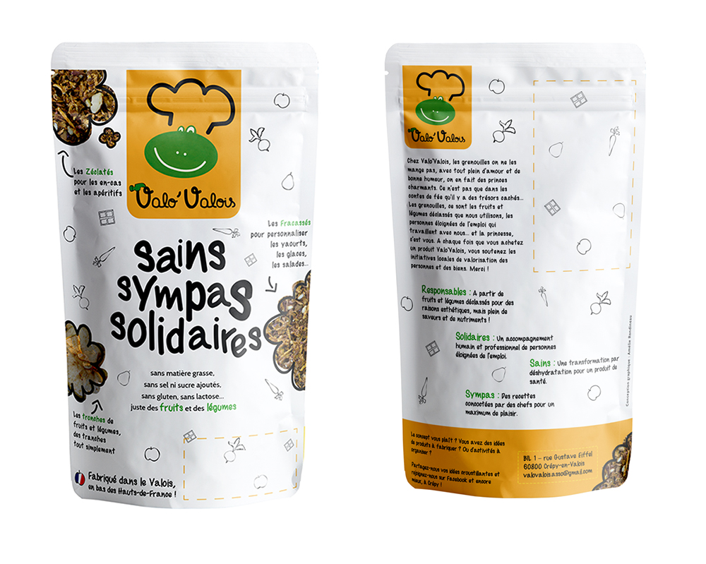 packaging food valo'valois